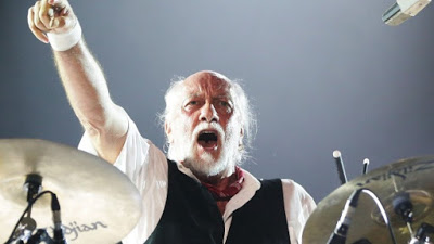 Mick Fleetwood: still a giant of a blues drummer