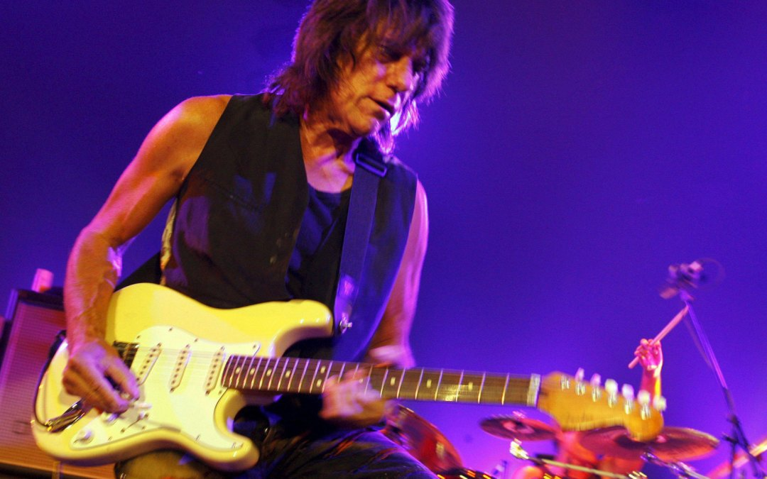 My tribute to Jeff Beck.