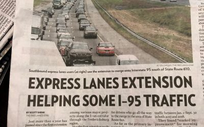Express Lanes Extension, One Year Later