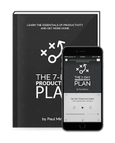 7-Day Productivity Plan eBook and Audio Book (small)
