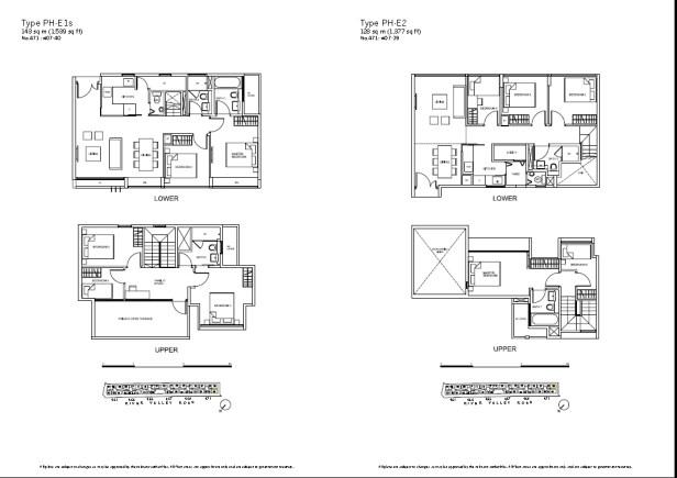 RV residences - Floorplan 14