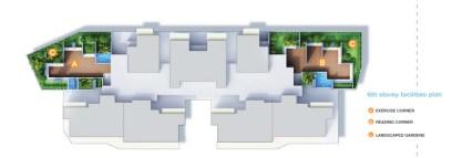 kallang riverside - siteplan level 6