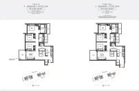 seaside residences 3 Bedroom study