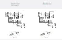 seaside residences 3 Bedroom viva