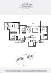 seaside residences 4 Bedroom