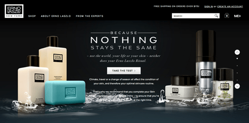 Nails Inc Ecommerce Website