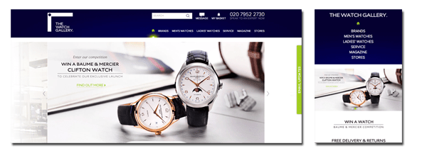 The Watch Gallery Ecommerce