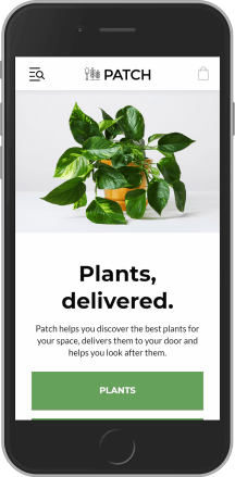 Patch Plants on mobile