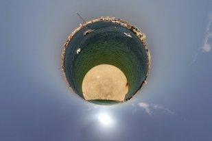 Praia do Molhe Leste em Peniche