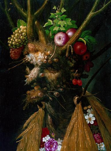 The Four Seasons by Giuseppe Arcimboldo