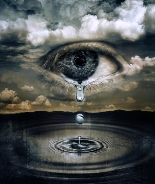 1 MIN READING: tears are words that need to be written