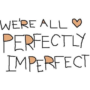The imperfect attracts us
