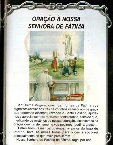 Viva N. Sra. Fátima!
