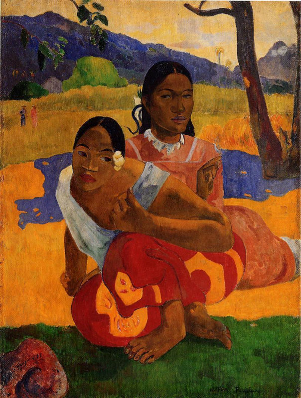 Quand Te Maries-tu ? : quand, maries-tu, Reproduction, Tableau, Gauguin,, Quand, Maries-tu, Nafea, Ipoipo