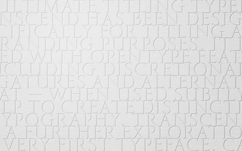 Paulo Goode: Typeface Design » Transcend