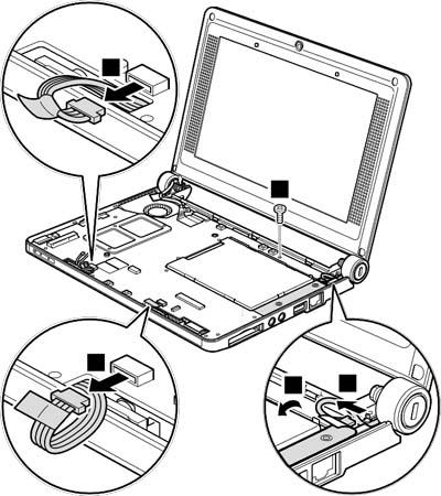 Как разобрать ноутбук Lenovo IdeaPad S9e/S10e/S10