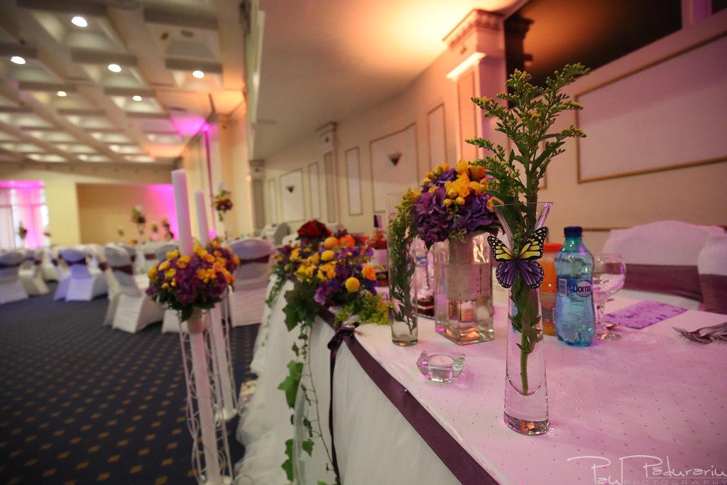 Georgiana si Daniel decoratiuni nunta la Grand Hotel Traian Iasi paul padurariu pregatiri miri www.paulpadurariu.ro 3