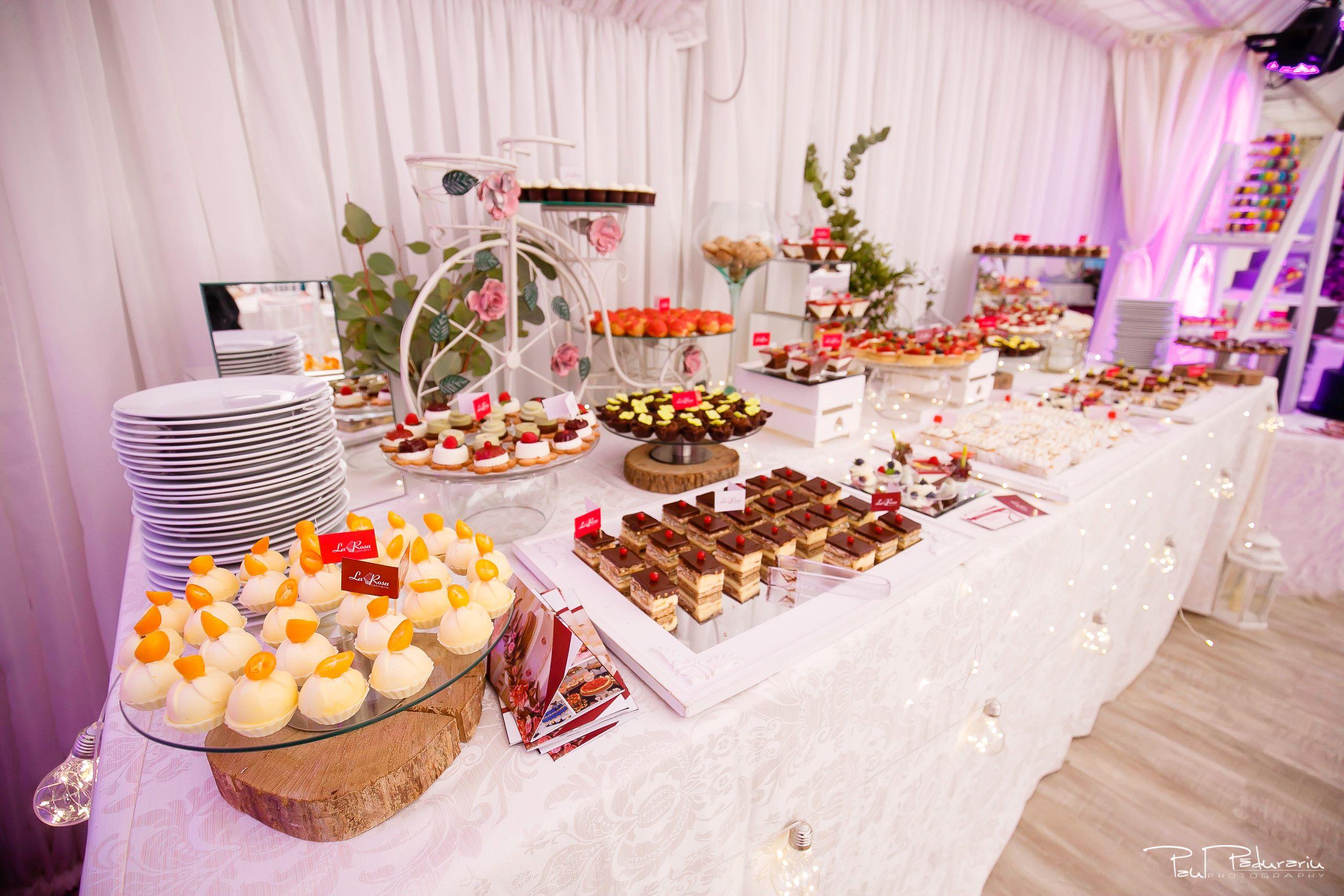 Cofetaria La Rosa - prajituri, torturi si candy bar pentru nunta Iasi fotograf Paul Padurariu 2