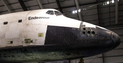 Space Shuttle Endeavour Nose