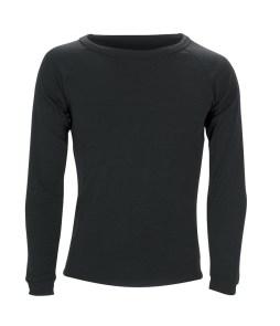 Sherpa Unisex Polypropylene Thermal Top-Black