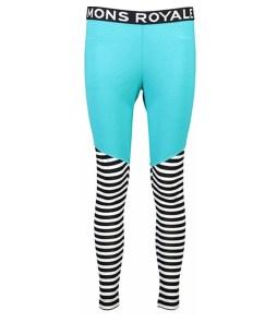 Mons Royale Christy Legging-Tropicana Thick Stripe
