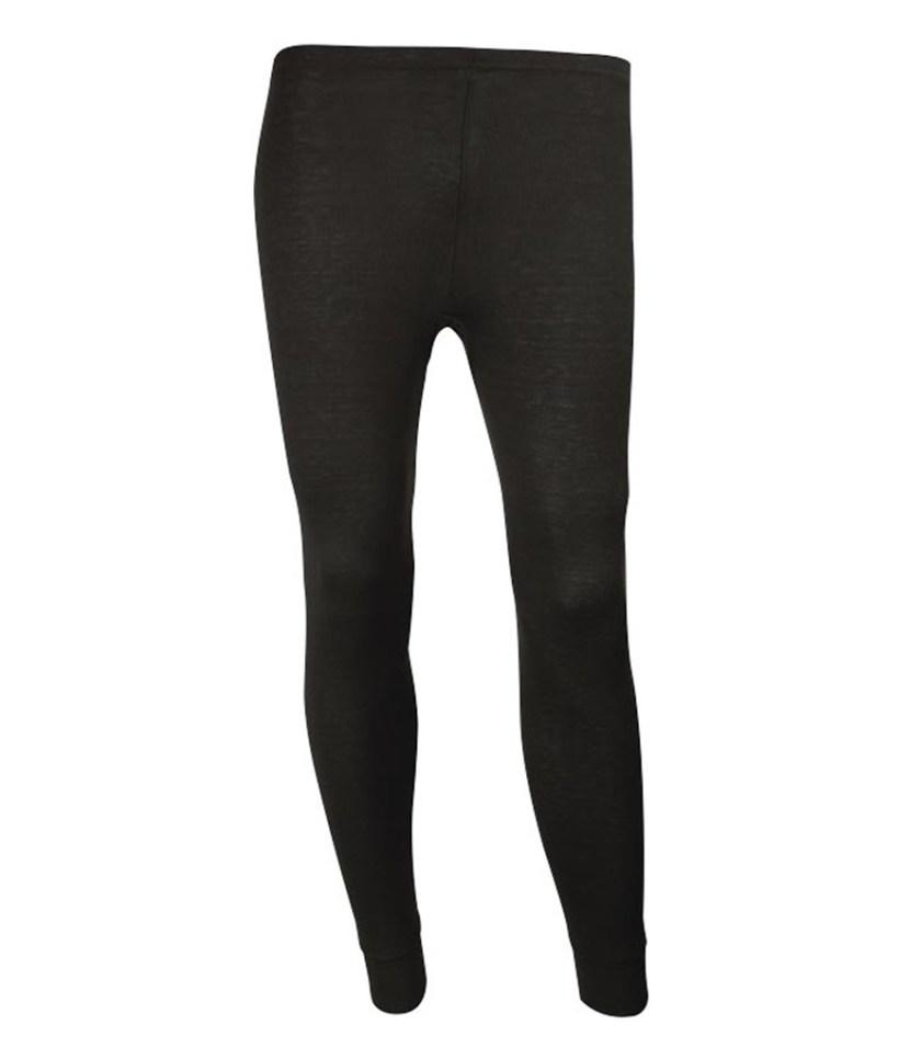 Sherpa Unisex Merino Wool Leggings-Black