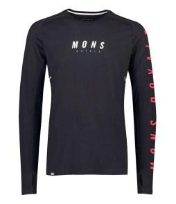 Mons Royale Olympus 3.0 LS Black