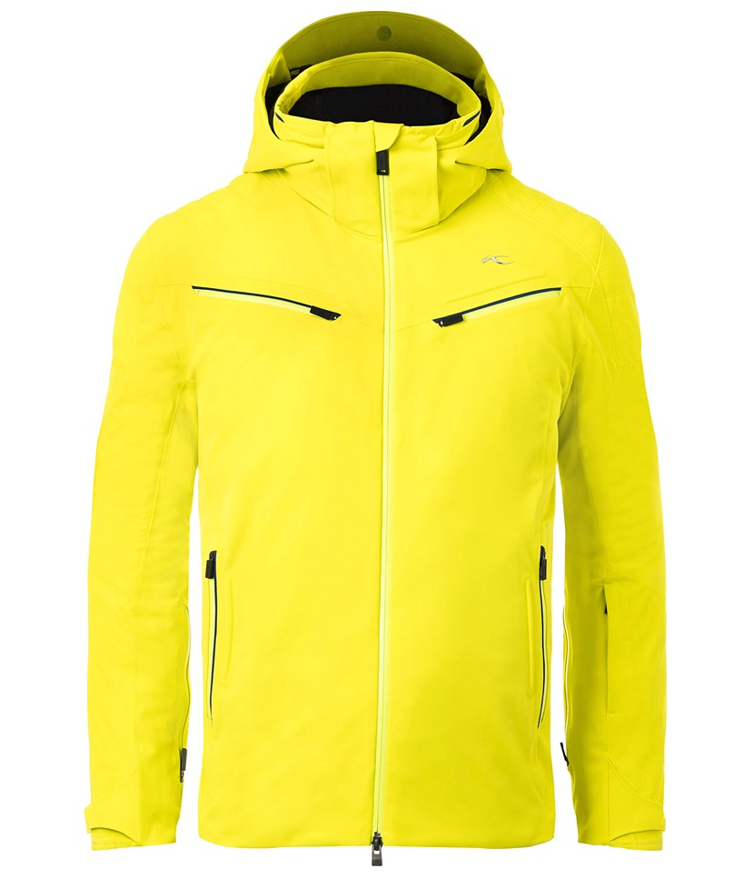 Kjus Formula Mens Ski Jacket-Citric Yellow
