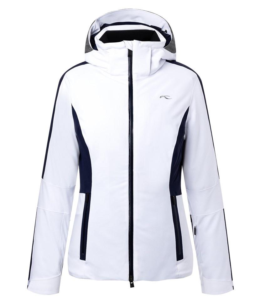 Kjus Formula Women's Jacket White/Atlanta Blue