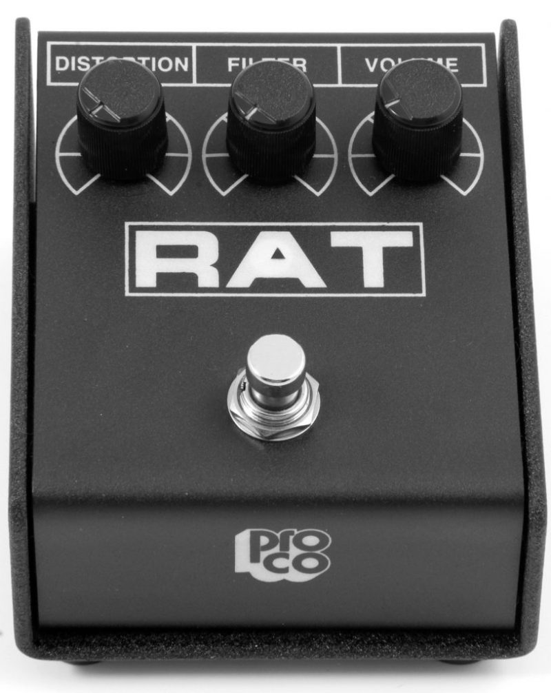 The Pro Co RAT Distortion Pedal