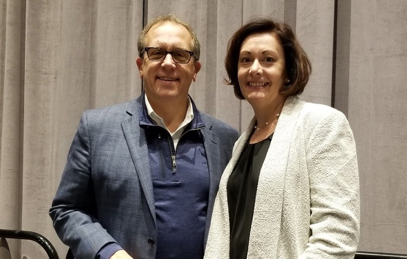 Michael Kubit and Jennifer Stedelin