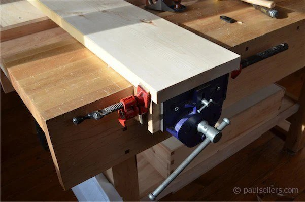 the paul sellers vise clamp system or paul sellers blog