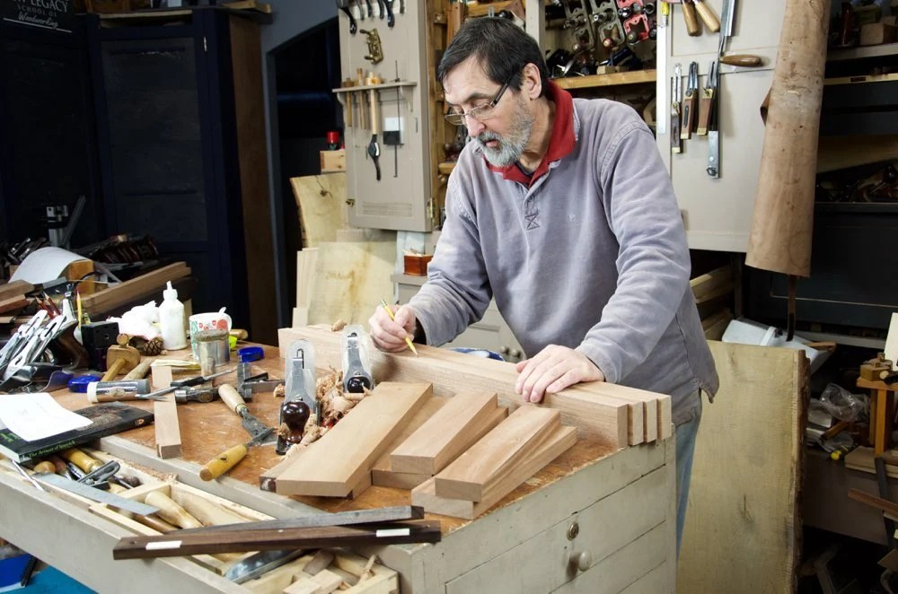 The goal is to make a twist-free door starting with the rails and stiles and using my method for guaranteed co-planer surfaces between rails and stiles. & Making Doors With Hand Tool Methods - Paul Sellers\u0027 Blog