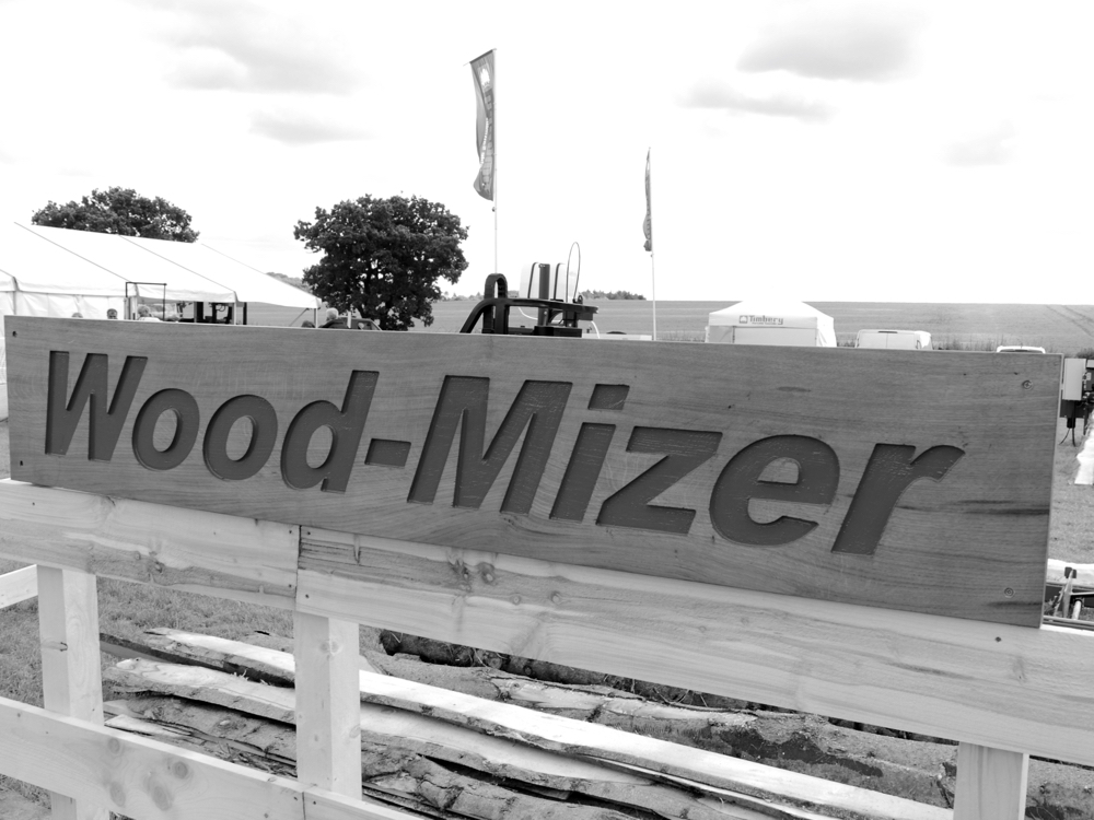 And there as you might expect was good old Wood Mizer