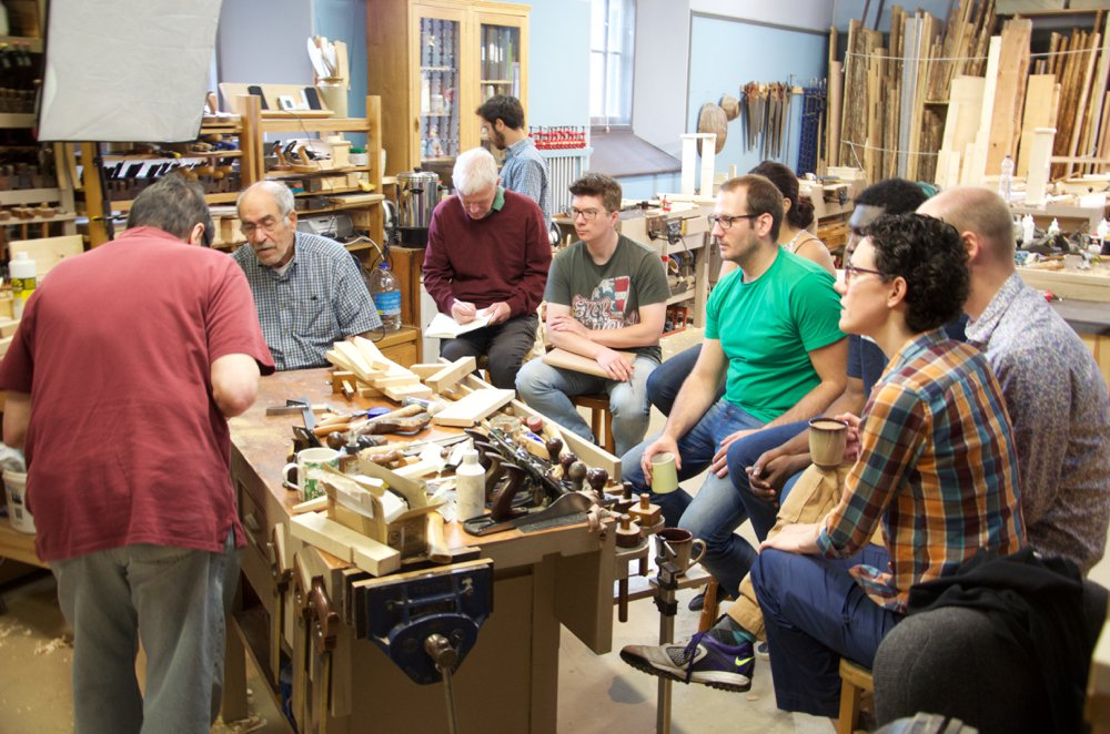 An Emerging Woodworking School Paul Sellers Blog