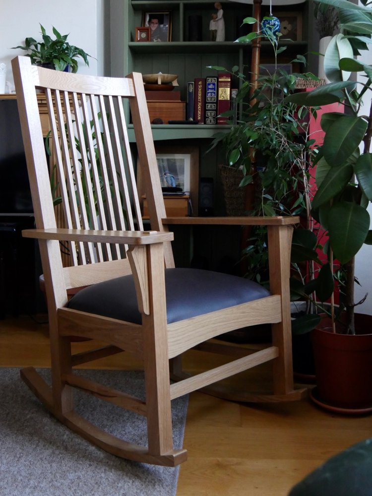 The Craftsman Style Rocking Chair Series