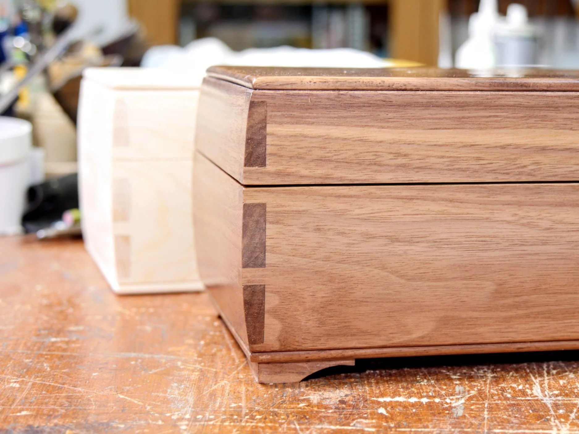 The Classic Look of Routed Dovetails. Oops, Meant Hand-cut!!! - Paul ...