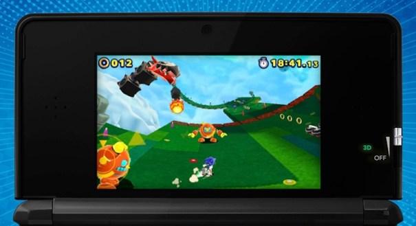 Sonic Lost World 3DS shot