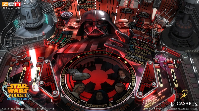 Star Wars Pinball Darth_Vader_Table