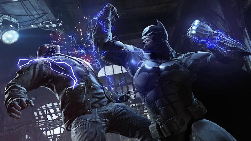 Batman Arkham Origins shock glove