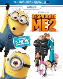 Despicble Me 2 cover art