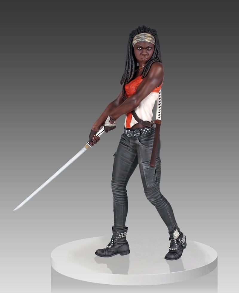 Michonne From The Walking Dead no hood