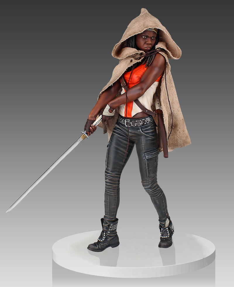 Michonne From The Walking Dead  with hood
