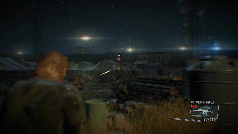 Metal Gear Solid shooting