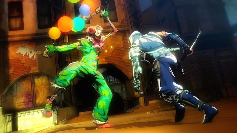 Yaiba Ninja Gaiden Z clown