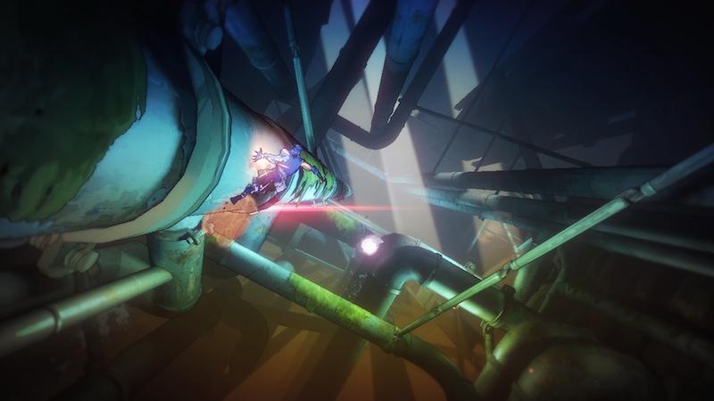 Yaiba Ninja Gaiden Z platforming