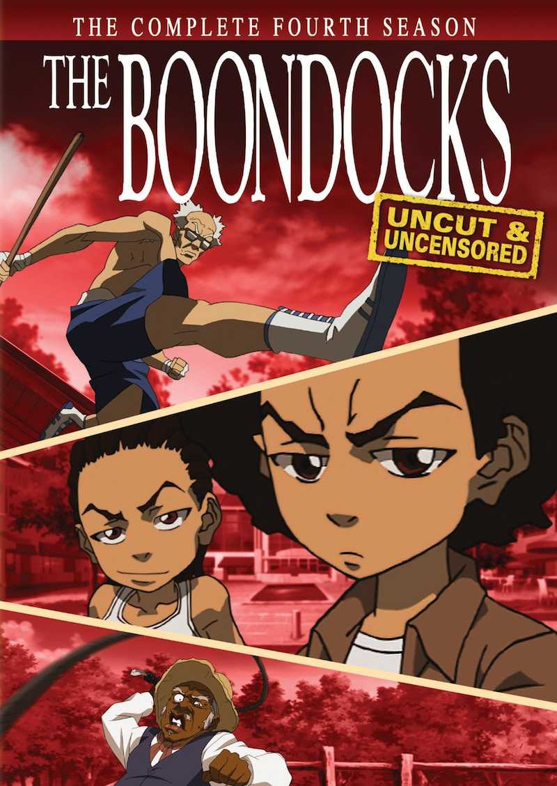 The Boondocks Complete Series Season 4 DVD cover 2