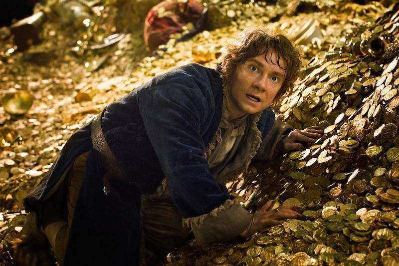 The Hobbit The Desolation Of Smaug gold