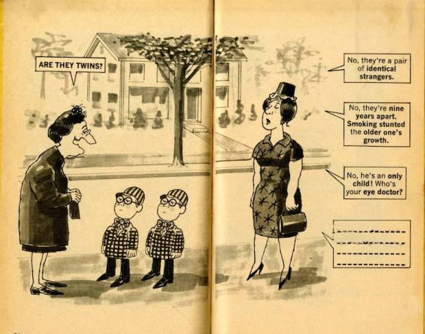 Al Jaffee Mad Magazine Snappy Answers To Stupid Questions