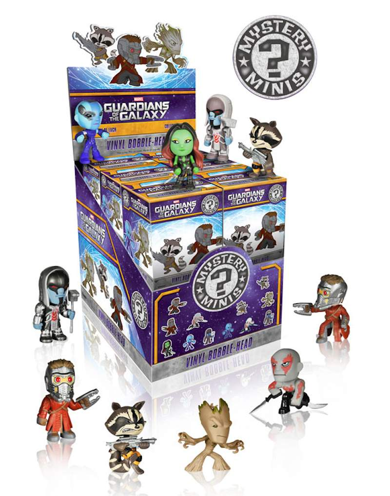 Guardians Of The Galaxy Mystery Minis 01